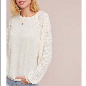 Anthropologie Pleione Pullover Sweater
